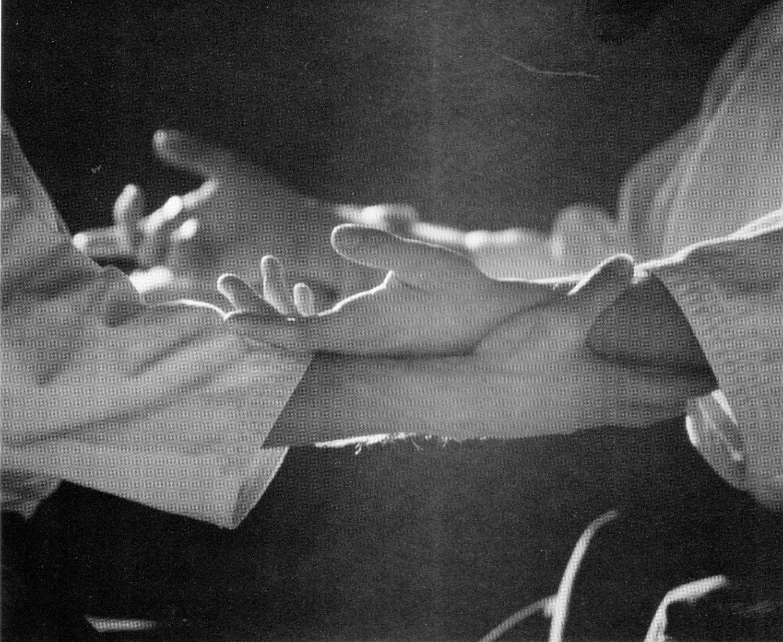 It´s a lot like dancing...