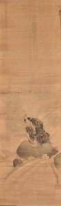 Misogi - Rollbild vermutlich von Katsushika Hokusai