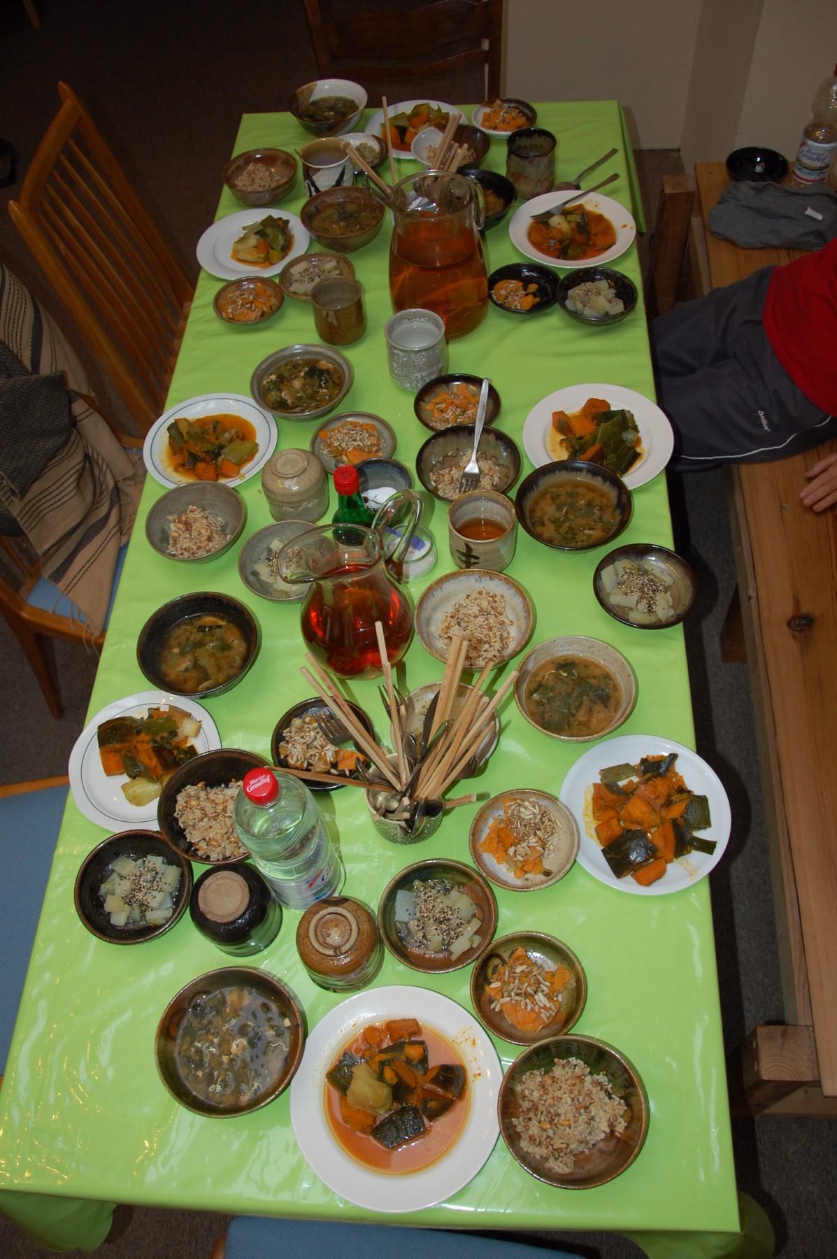 Vegetarisches Essen - Taido